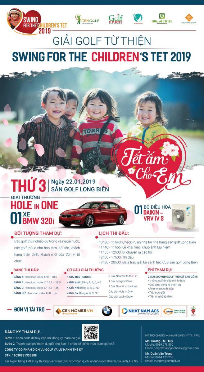 Swing for the children's Tet 2019: Tết ấm cho em