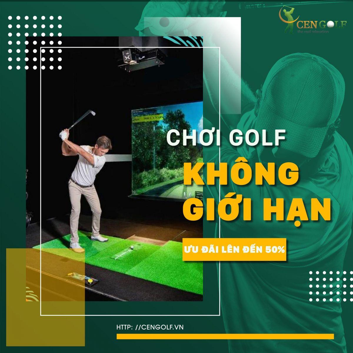 Gói hỗ trợ 50% phí mua thẻ hội viên Cen Golf 3D mùa dịch