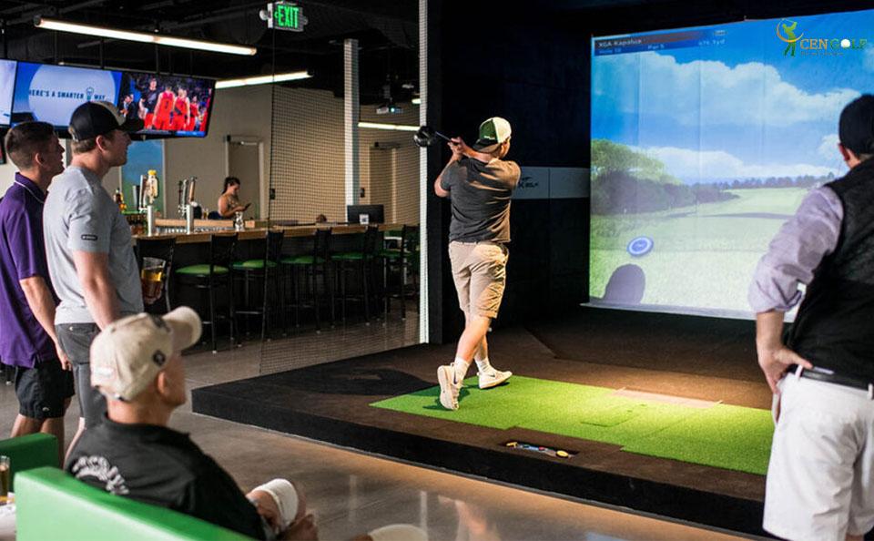 Cen Golf chính thức khởi công đầu tư hệ thống phòng golf 3D trong nhà